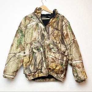 Winchester Coat Camo Hunting L Hooded